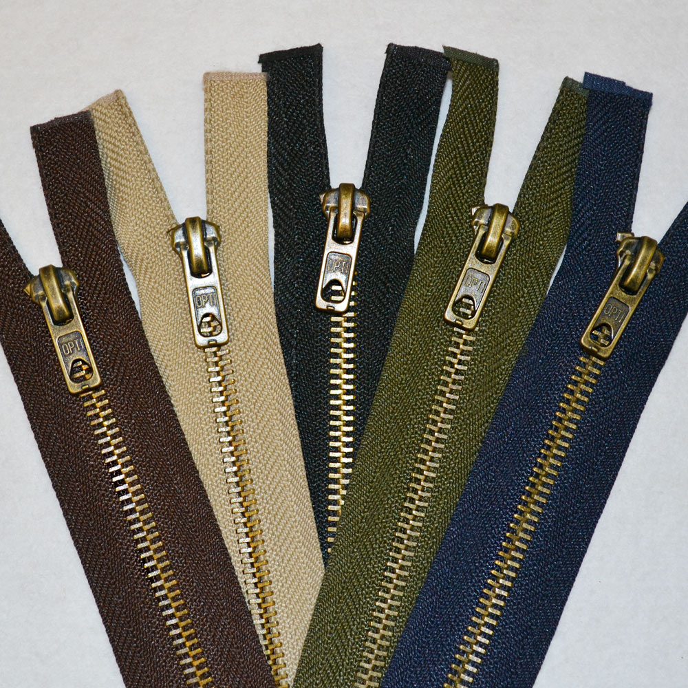 Brass Zips