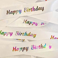 Birthday Ribbons