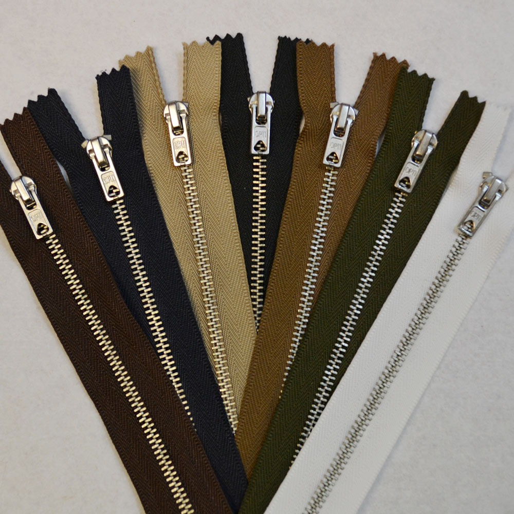 Nickel Trouser Zips