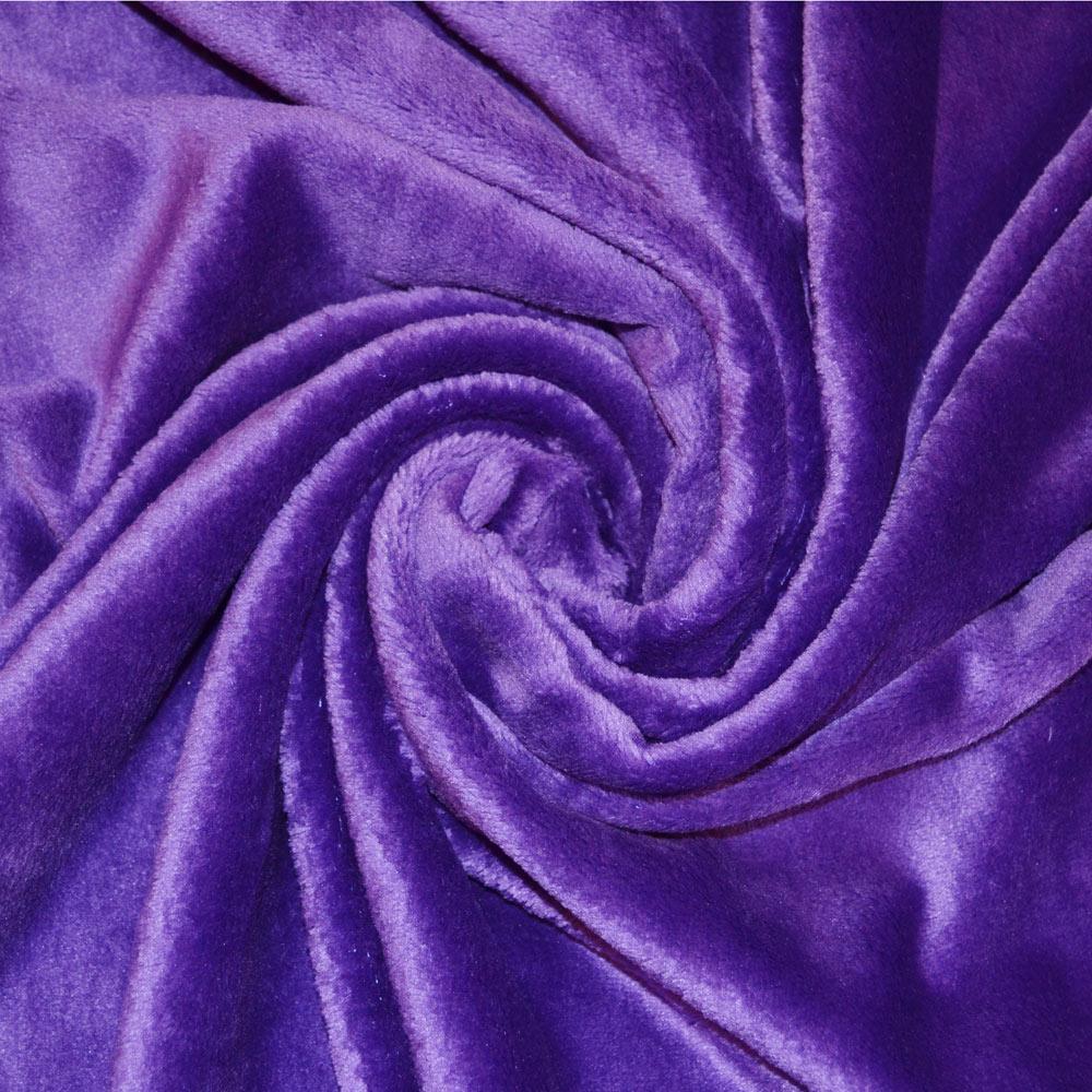 Reversible Plain Cuddle Fleece Fabric