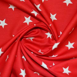 Star Cotton Print Fabric