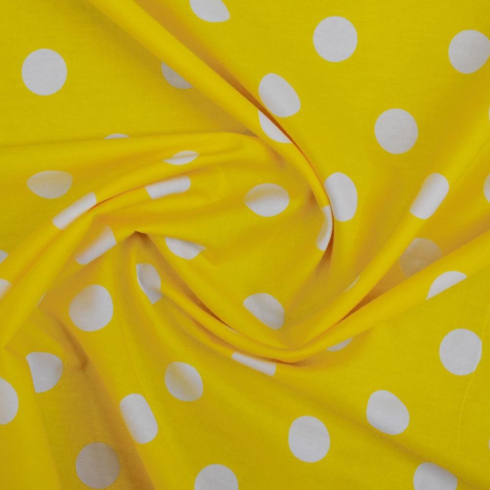 22mm Spot Cotton Print Fabric