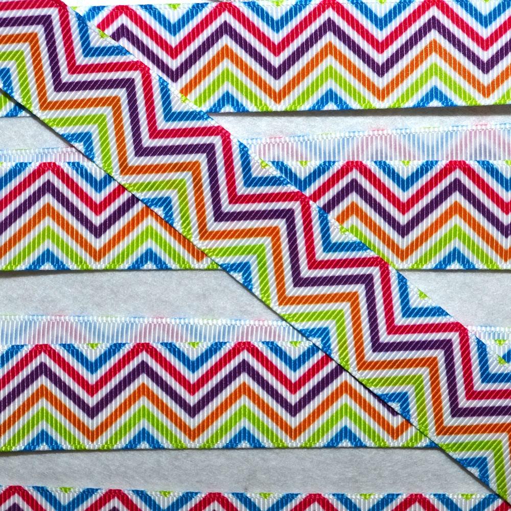 Printed Spots & Stripes Ribbon