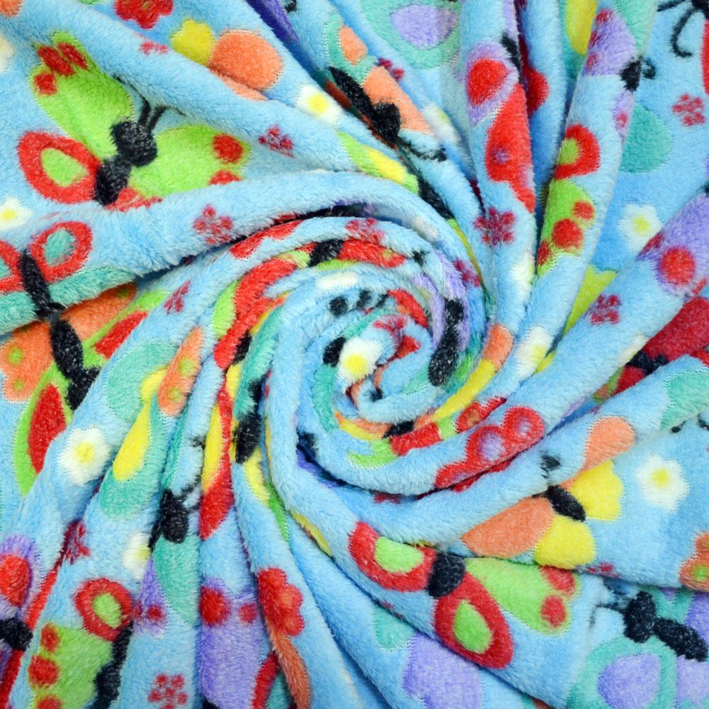 Print Cuddle Fleece Fabrics