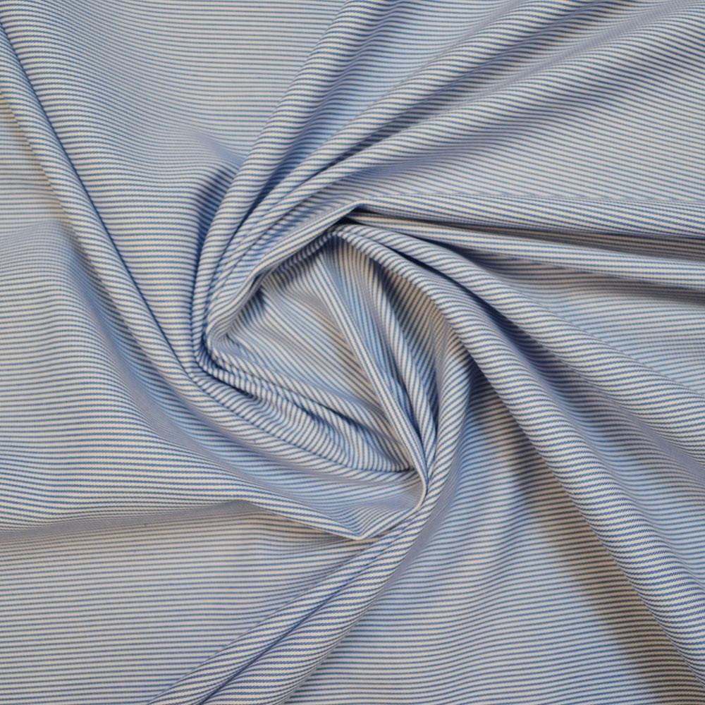 Candy Stripe Gabardine Fabric