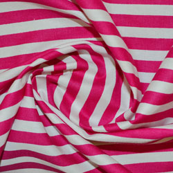Stripes Cotton Print Fabric