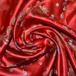 Chinese Brocade Satin Fabrics