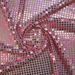 Round Sequin Jersey Fabric