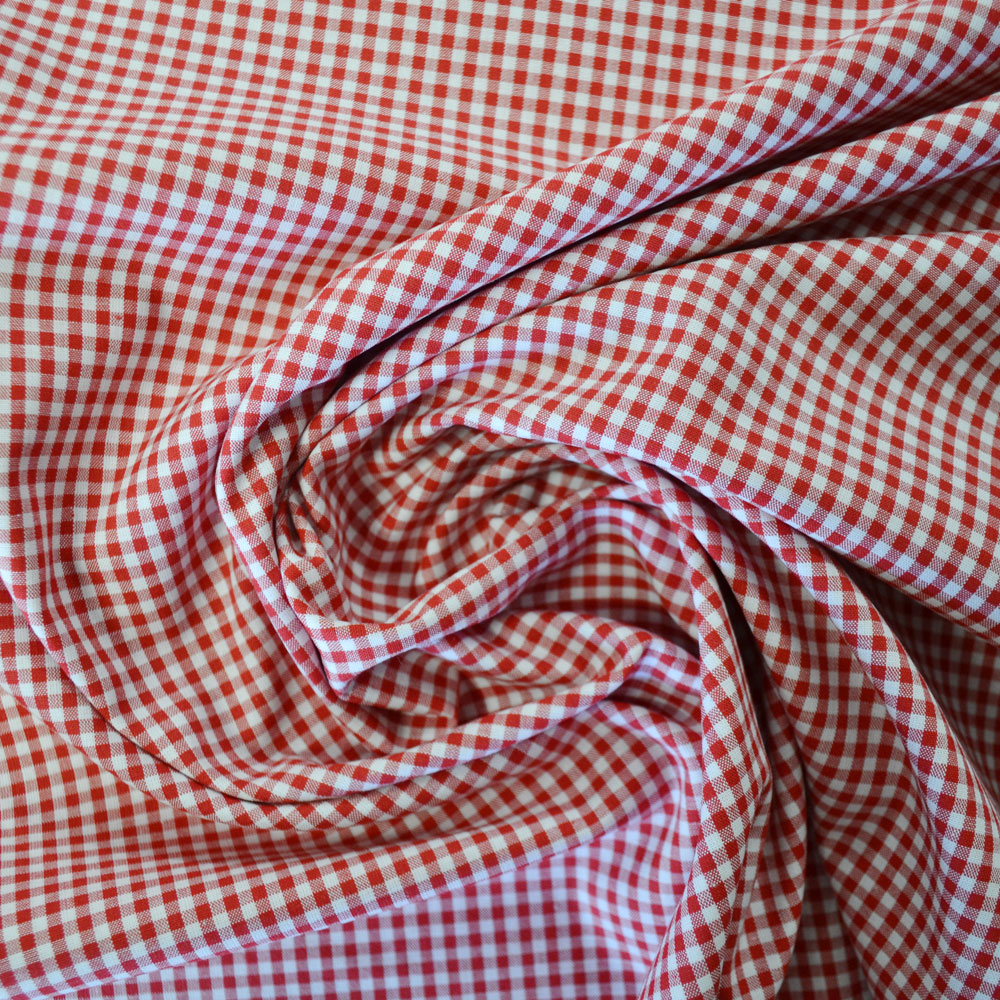 1/8 Inch Cotton Gingham Fabric