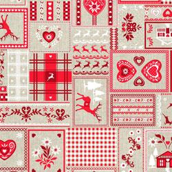 Canvas Christmas Fabrics