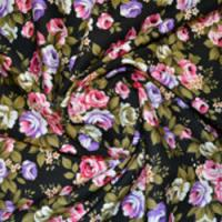 Large Floral Print Fabric