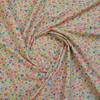 Small Floral Print Fabric
