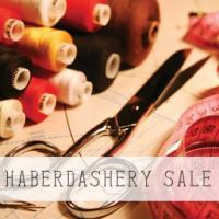Haberdashery Sale