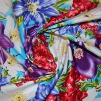 Cotton Spandex Print Fabric