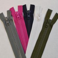 Plastic Open End Zips
