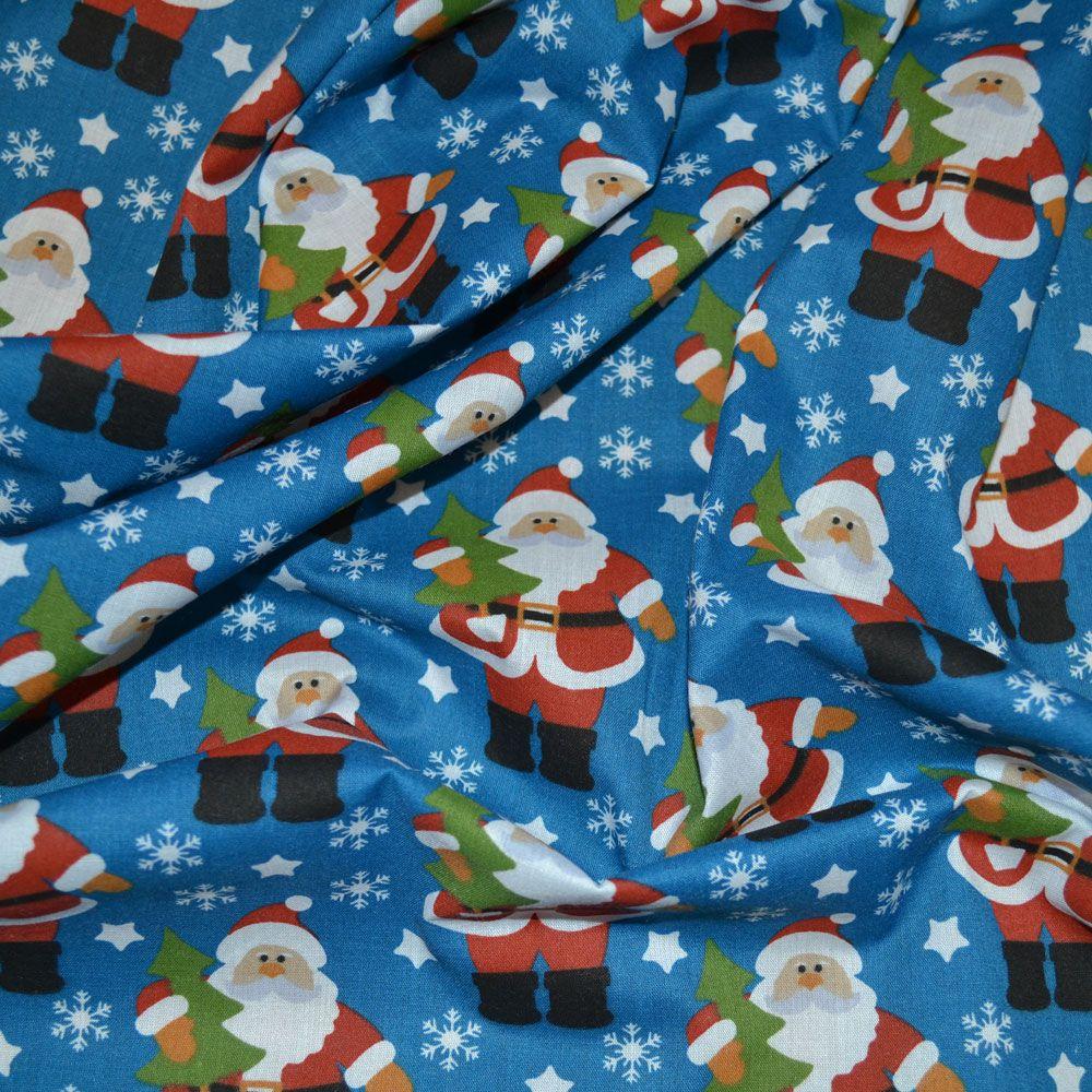 Polycotton Christmas Fabrics