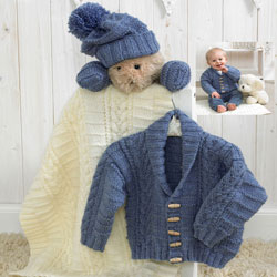 Baby Aran Knitting Patterns