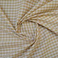 1/4 Inch Polycotton Gingham Fabric