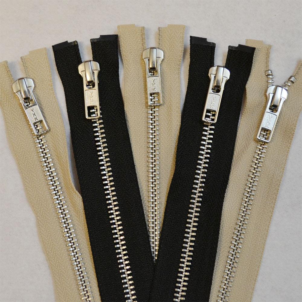 Extra Long Zips
