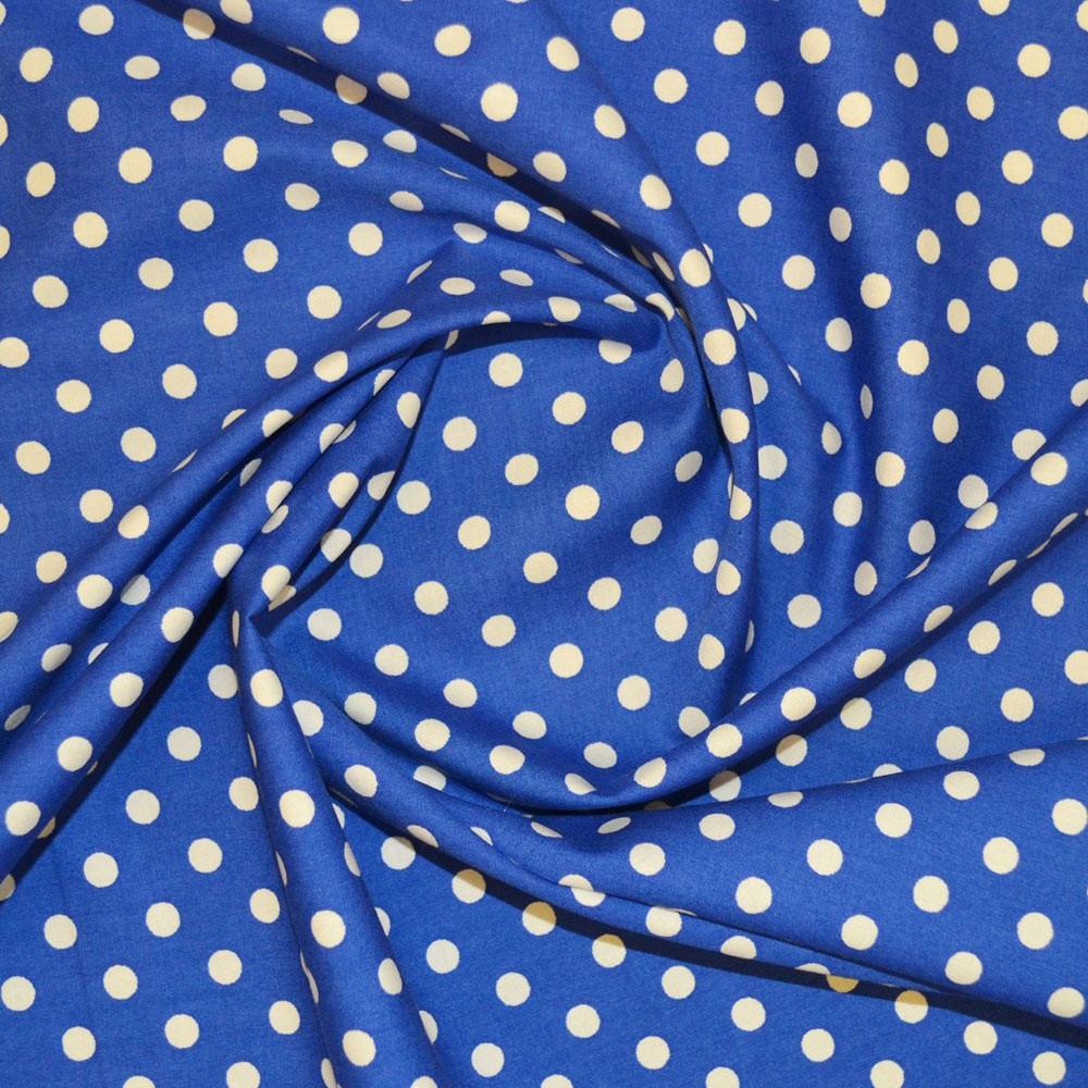 7mm Spot Cotton Print Fabric