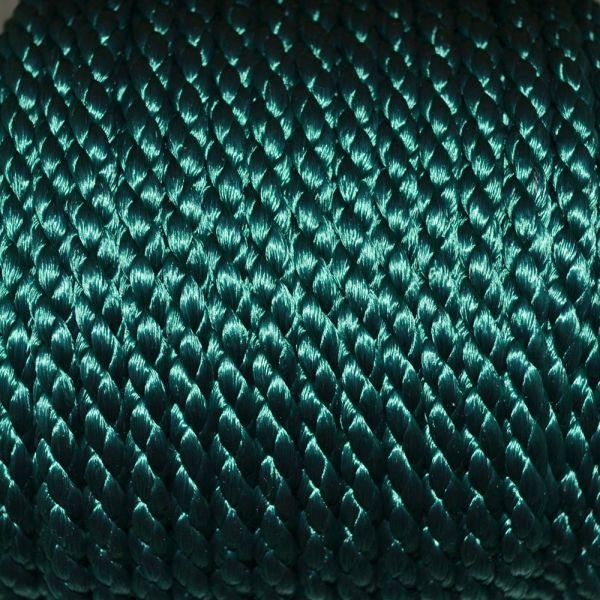 6mm Green Rayon Cord Close