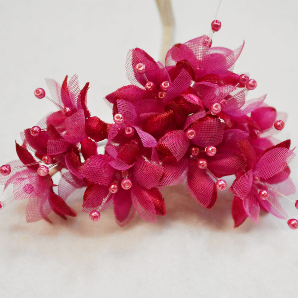 Hot pink baby breath flower bunch decorative flowers calico laine mightylinksfo