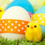 Using fabric for Easter At Calico Laine
