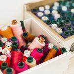 Haberdashery - Christmas Sewing Box