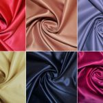 NEW IN - Pearl Faced Duchess Satin Fabric