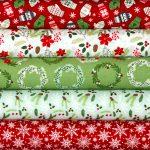Christmas Fabrics at Calico Laine